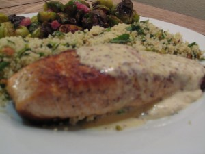 Salmon with Mustard