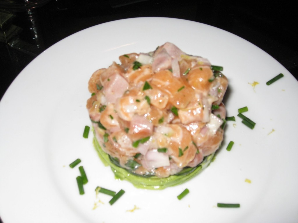Salmon Tartare Avocado