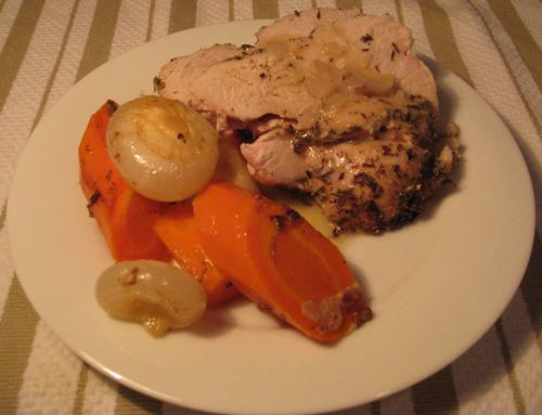 Provençal Roast Turkey with Riesling
