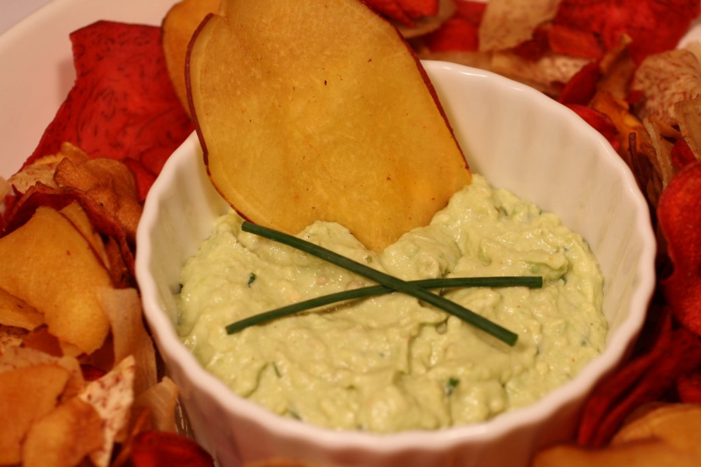 Avocado Chevre Dip