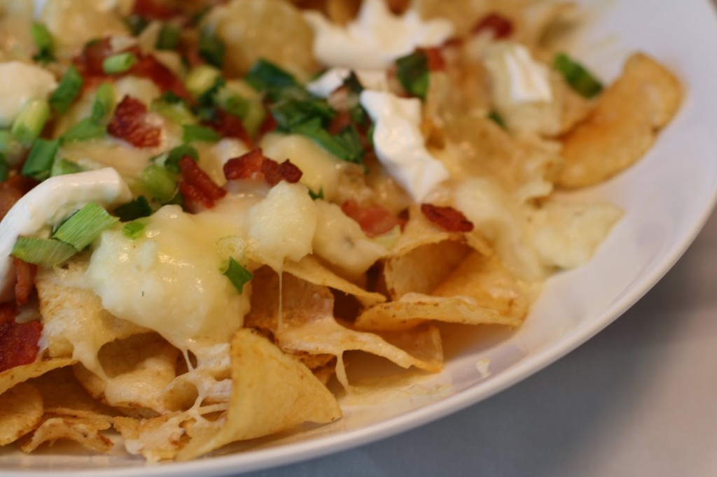 Loaded Baked Potato Chip Nachos