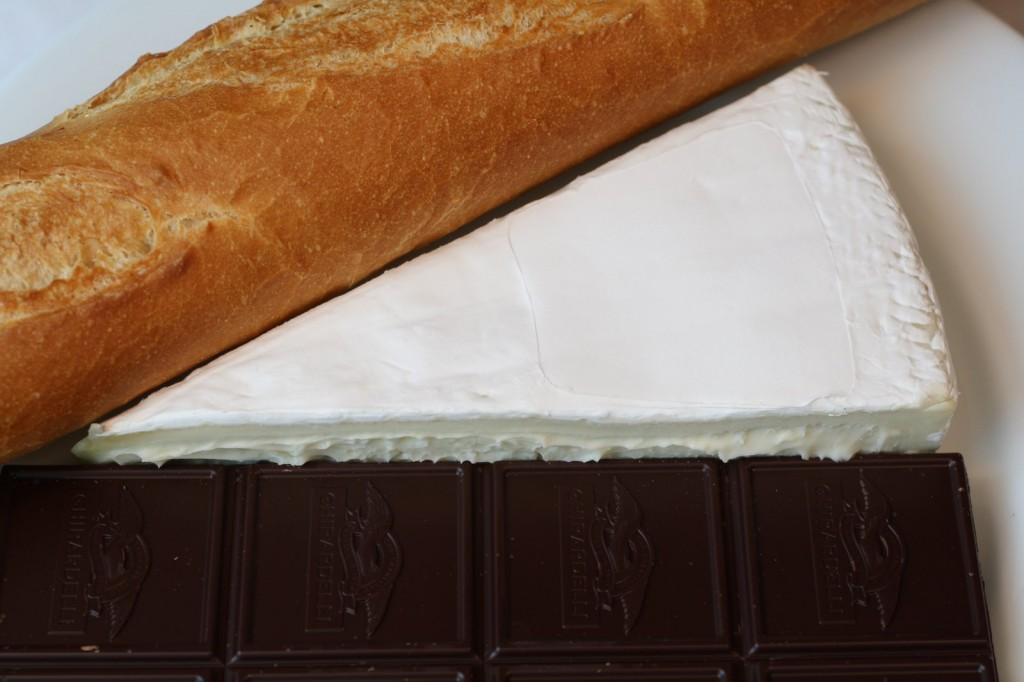 Brie Chocolate Baguette Ingredients