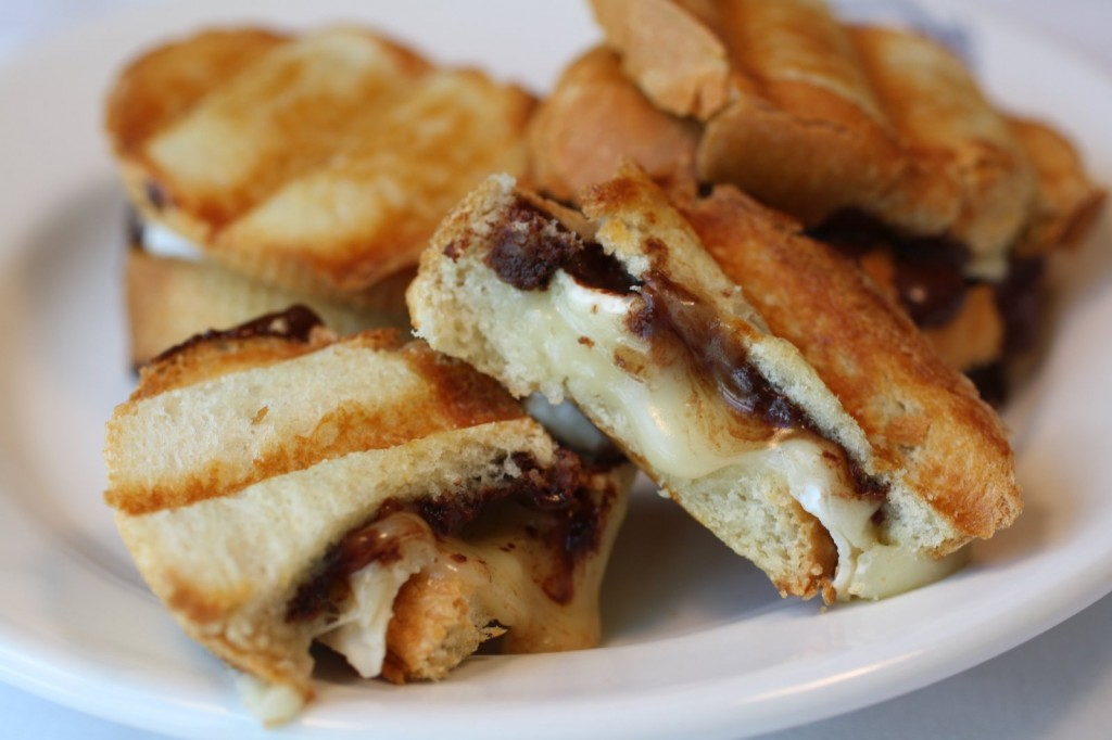 Brie and Chocolate Baguettes
