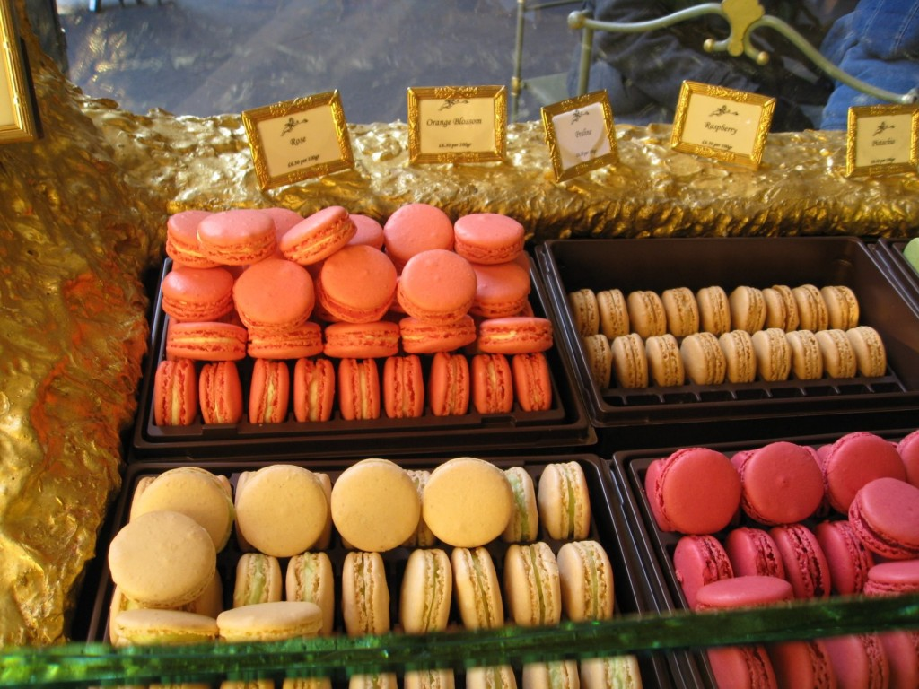 The Macaron Counter at Laduree