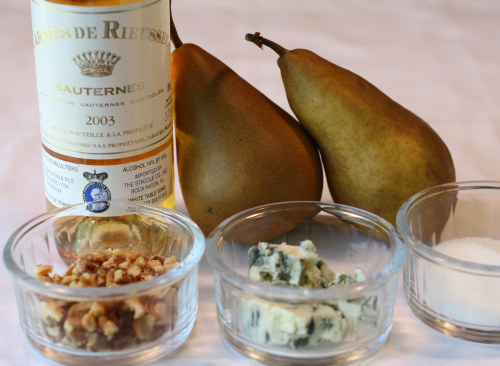 Roquefort Roasted Pears Ingredients