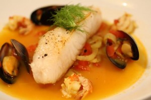Sea Bass Bouillabaisse