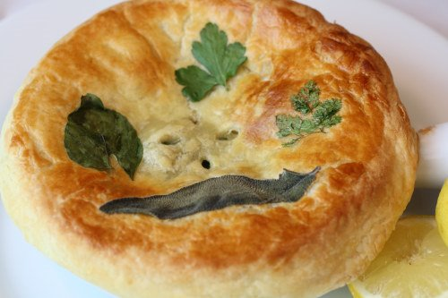 Coquilles St. Jacques Pot Pie
