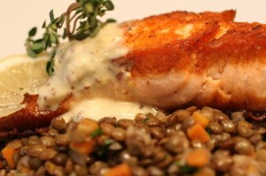 Garam Masala Seared Salmon With Coconut-Curry Butter Recipes ...