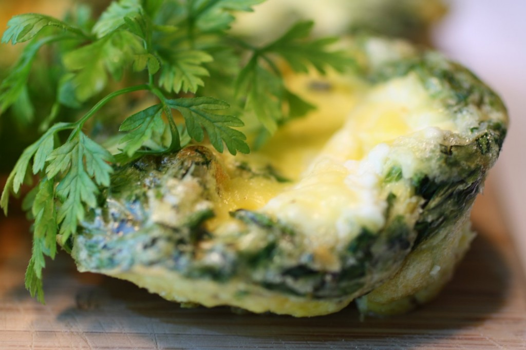 Fines Herbes Crustless Quiche