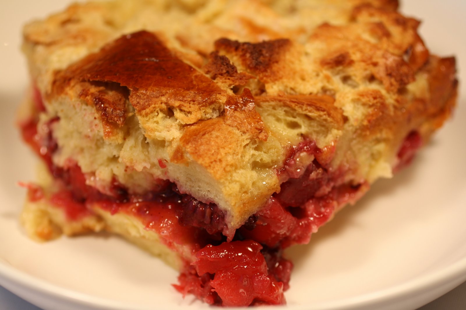 ... Recipe: Apple and Blackberry Bread Pudding with Brioche and Calvados
