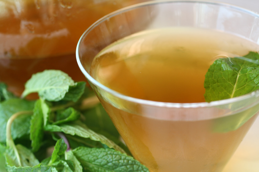 Mint-Tea-Martini
