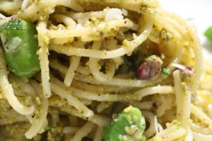 Pasta With Sweet Pea Pistou And Chèvre Recipes — Dishmaps