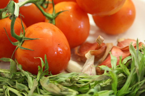 Tomatoes and Tarragon