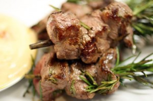 Rosemary Lamb Brochettes