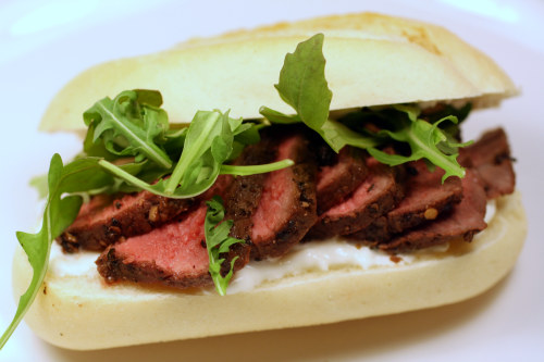 Smoky Bison Sandwich