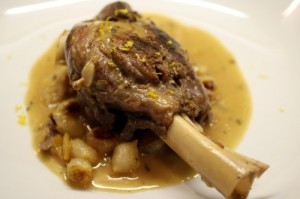 Lemon Lamb Shanks