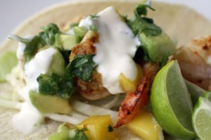 Key Lime Shrimp Taco