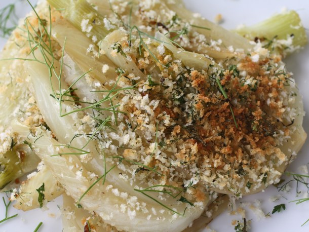 Braised Fennel Crunch