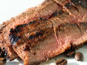 Coffee-Charred Flank Steak