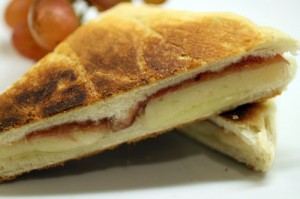 Grilled Cheese with Membrillo and Serrano