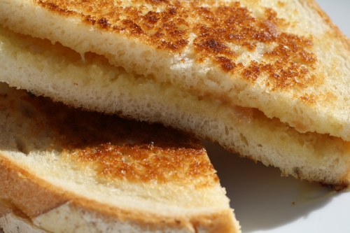 Marmalade and Stinky Grilled Cheese