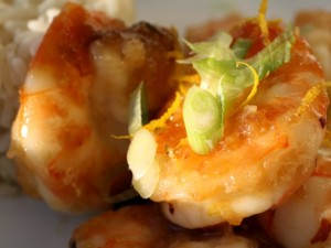 Orange Peel Shrimp