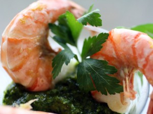 Roasted Chermoula Shrimp Cocktail