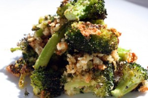 Roquefort Roasted Broccoli