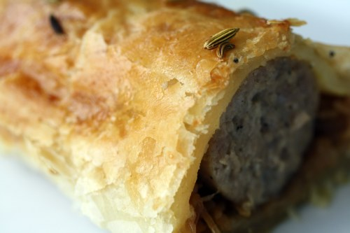 Sausage and Fennel En Croûte
