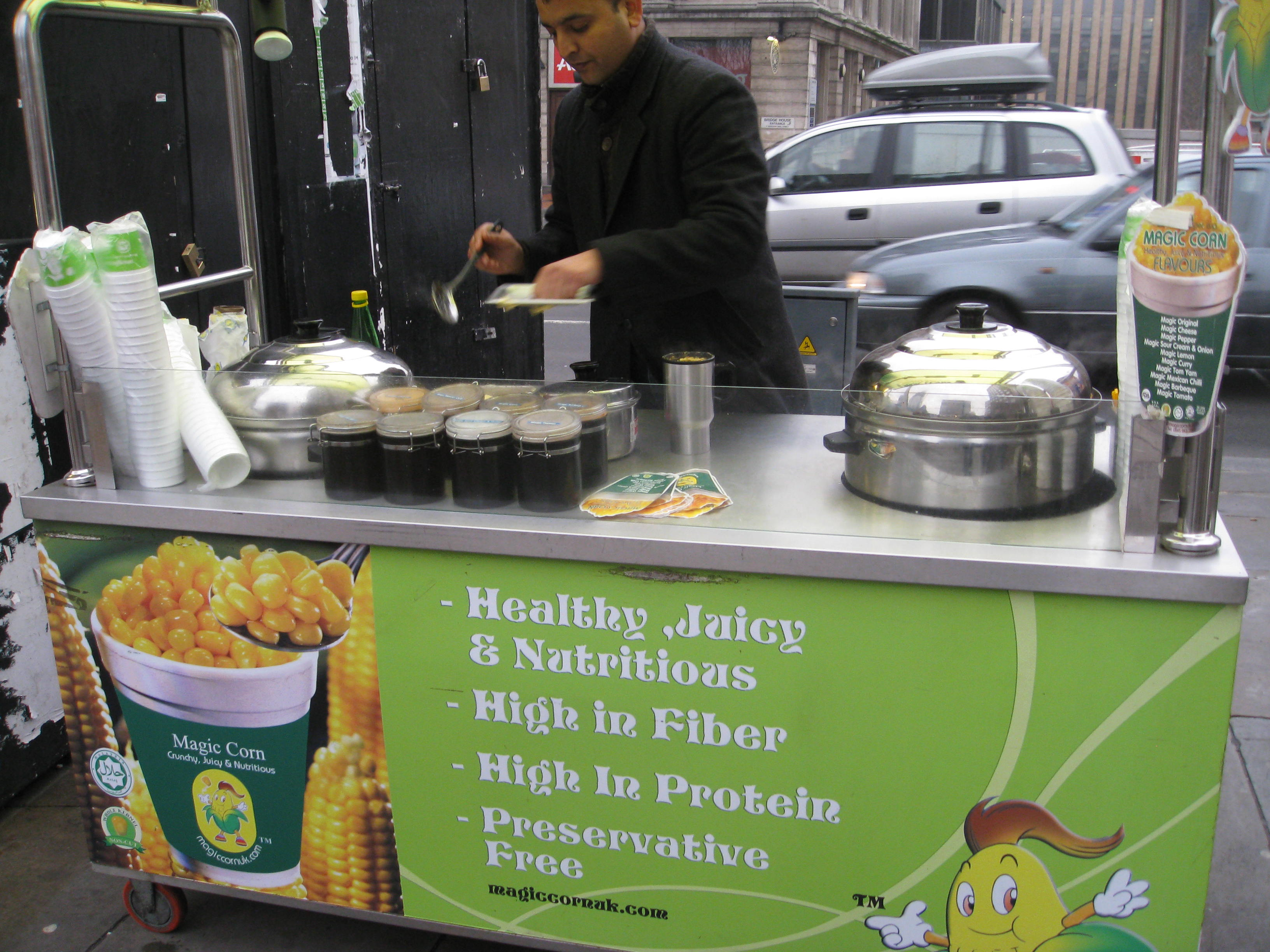 Magic Corn Stand