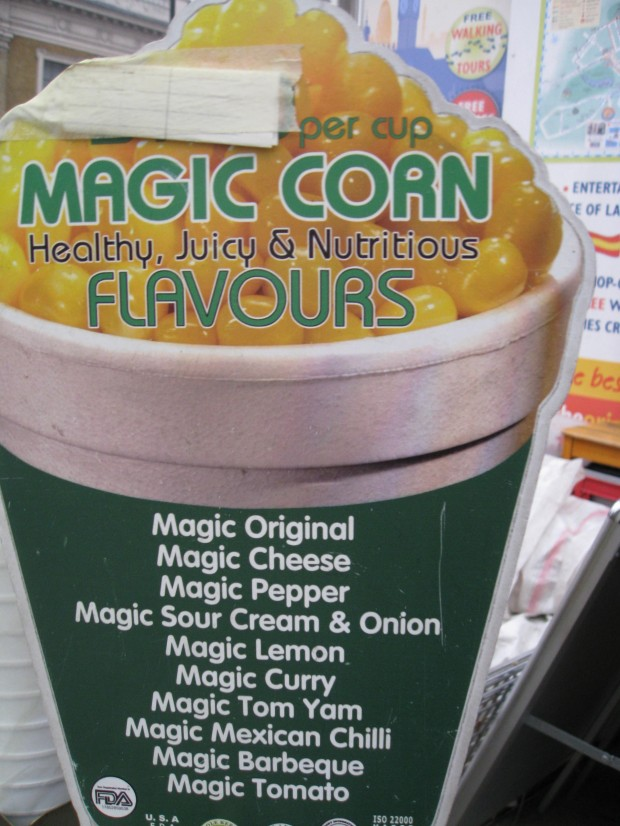Magic Corn Flavors