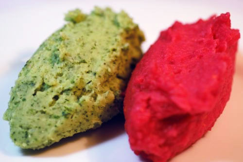 Red and Green Mash