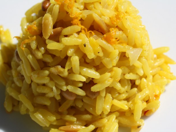 ... and Orange Rice Pilaf with Orzo and Pine Nuts | French Revolution