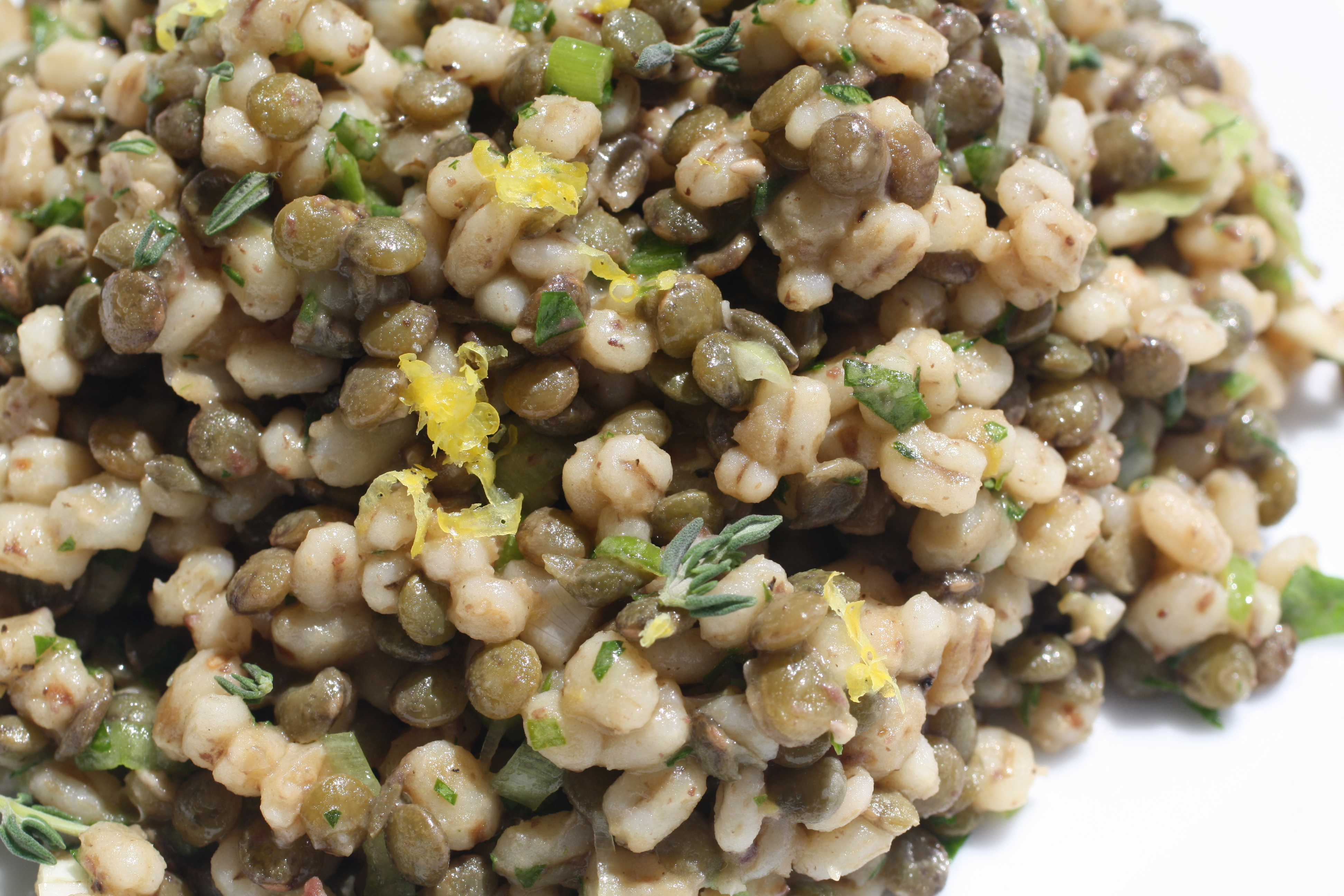 Lentil and Barley Salad