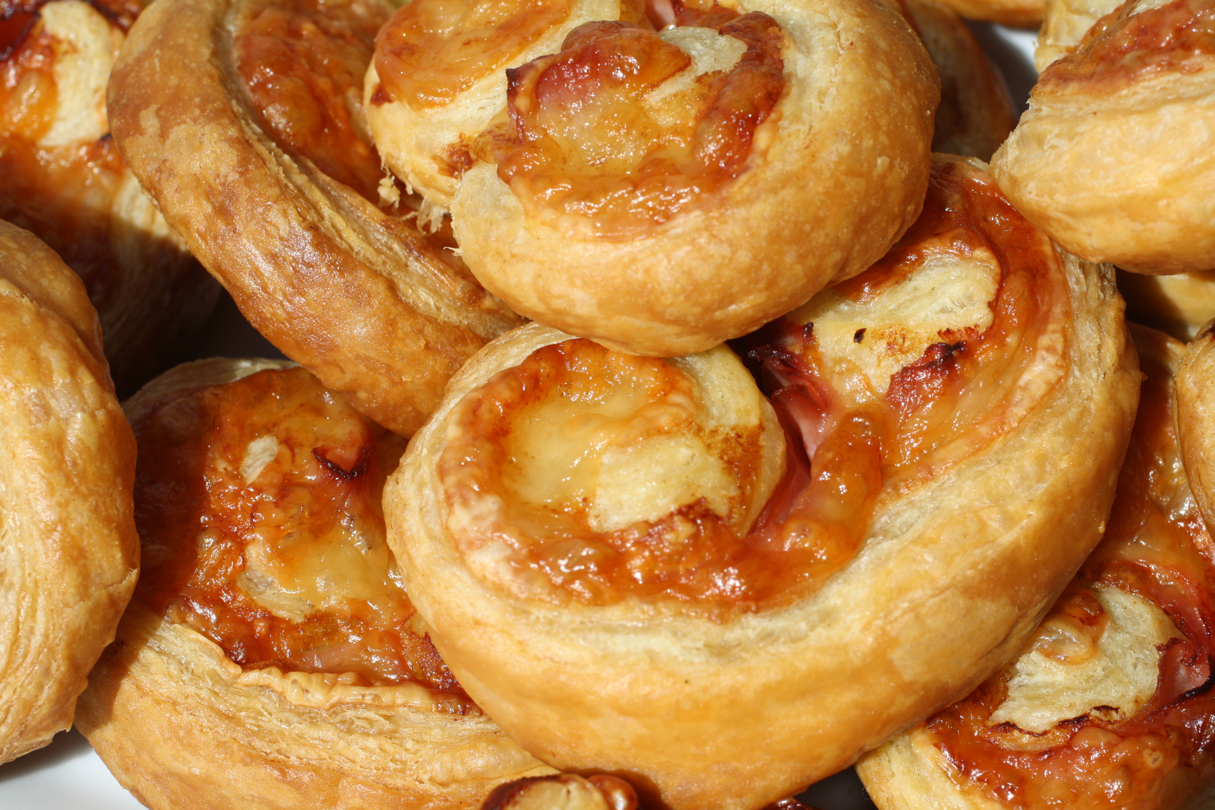 Ham and Cheese Palmiers