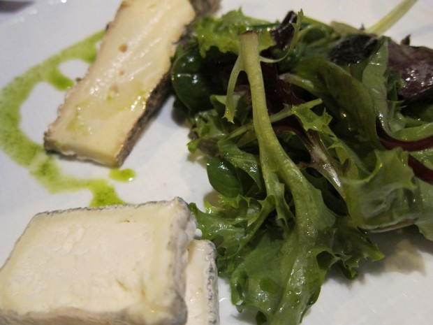Cheese Plate: Cow, Goat, Greens, Pistou