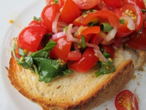 Spontaneous Sunday Bruschetta
