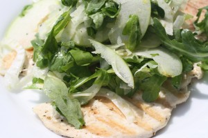 Chicken Paillard Salad