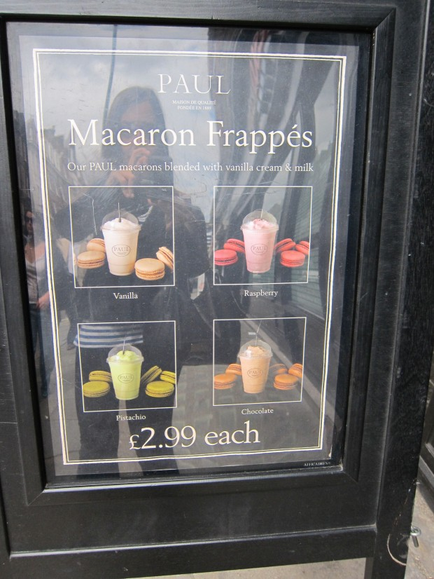 Macaron Frappé At Paul, London