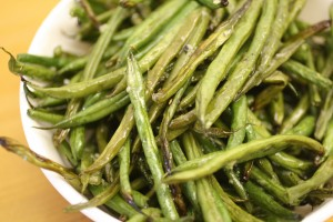 Garlic-oholic Roasted Haricots Verts