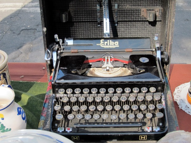 Italy Old Typewriter