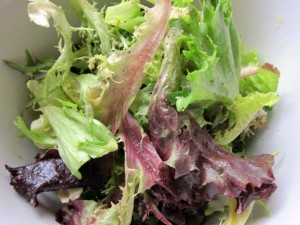 Perfect Vinaigrette Salad FIAF
