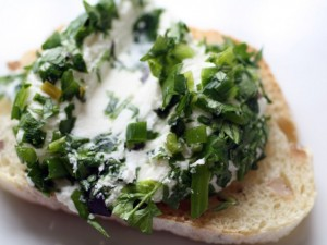 Herby Goat Cheese