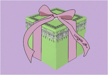 Laduree Box Cartoon