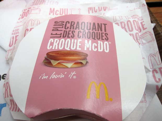 MENTON McDo Croque McDo Packaging