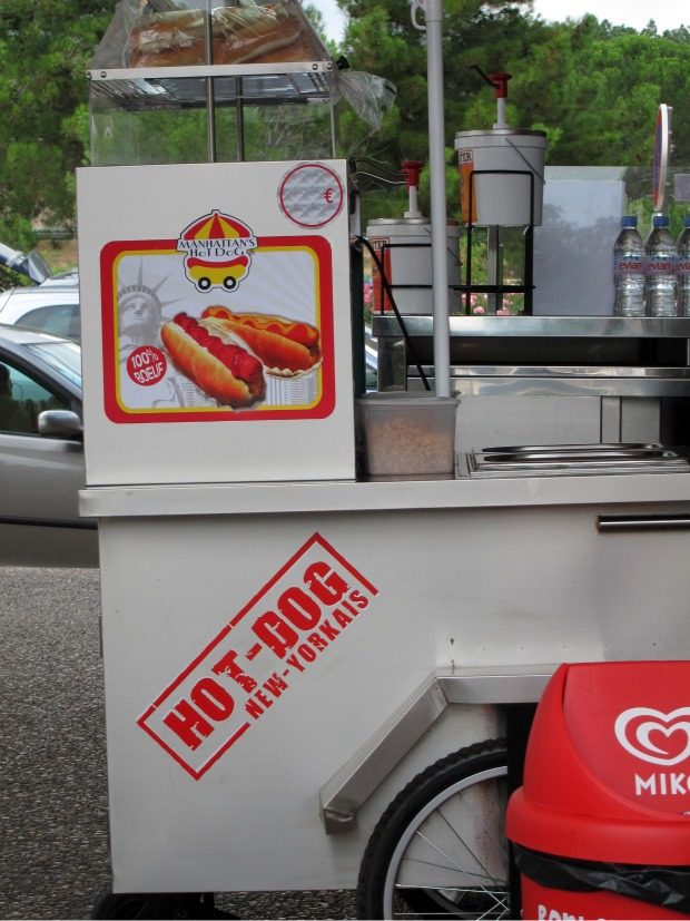 TOULOUSE Hot Dog Cart 1