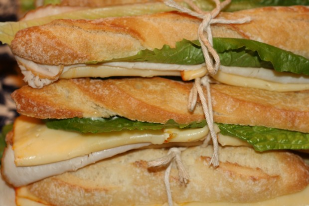 Yura Turkey Sandwiches