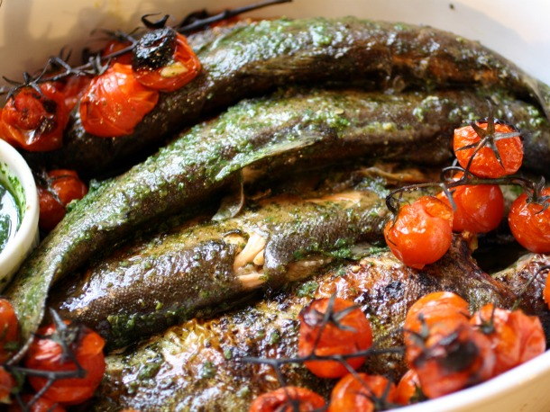 Fines Herbes Whole Fish