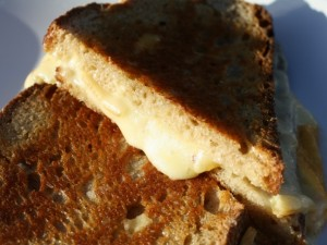 Raclette Grilled Cheese