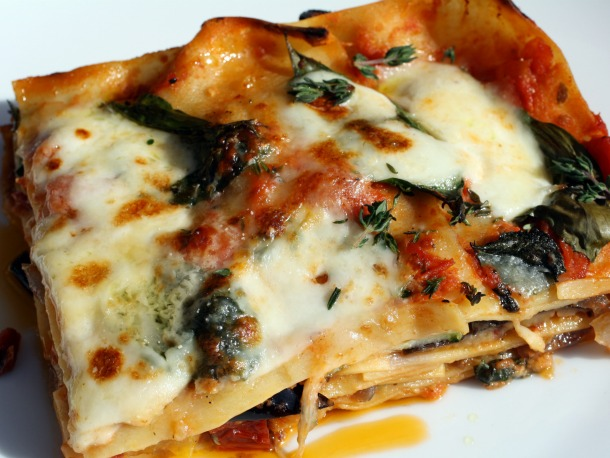 Roasted Ratatouille Lasagna Napoleons Recipe — Dishmaps